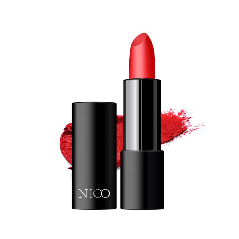 Nico 咬唇妆必备保湿哑光脱色持久口红